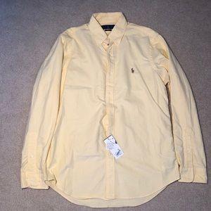 Men's Yellow Polo by Ralph Lauren Shirt